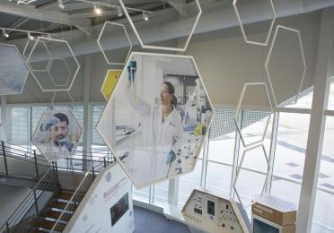 Showroom in Solaize Research Center (Centre de Recherche Solaize)