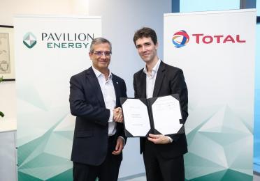 Pavilion Energy and TotalAffirm LNG Bunkering Partnership