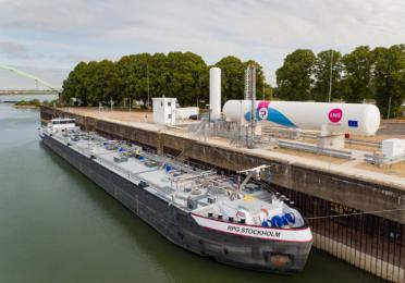 Pitpoint Opens Europe's First Permanent Lng Bunker Station