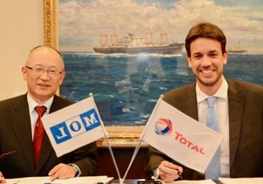 Total Marine Fuels and Mitsui OSK