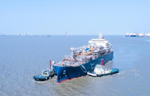 Total Marine Fuels Global Solutions launches its new LNG bunker vessel