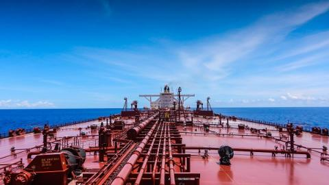 Photo of a tanker