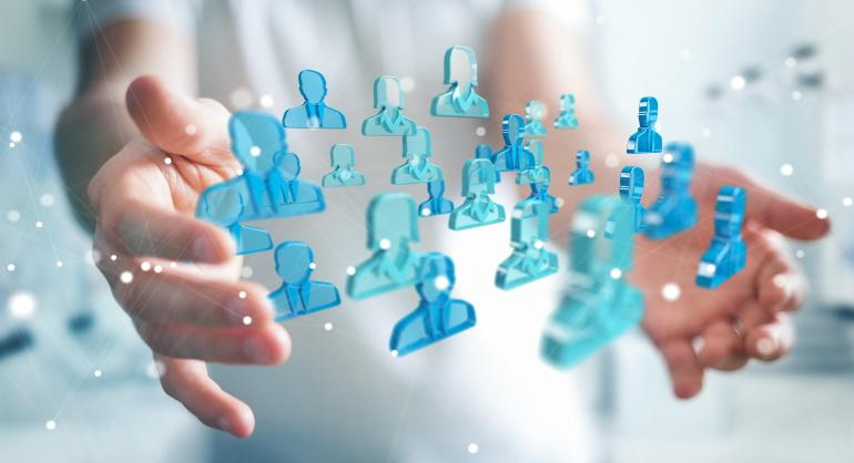 People between hands - Customer Relationship