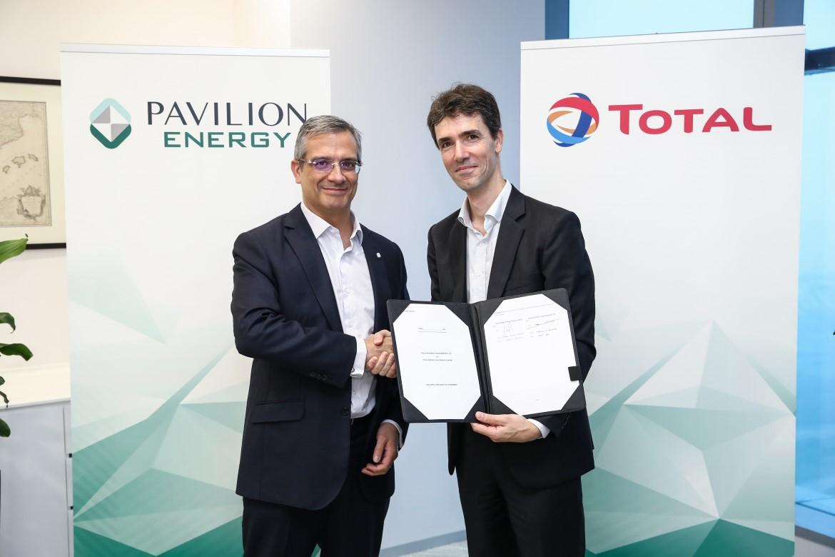 Pavilion Energy and Total Affirm LNG Bunkering Partnership