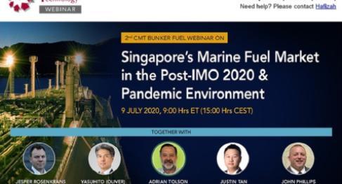 2nd CMT Bunker Fuel Webinar