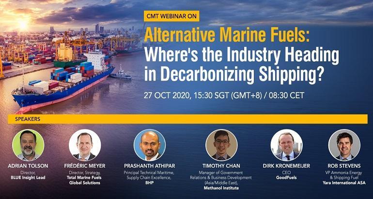 CMT Webinar on Alternative Marine Fuels